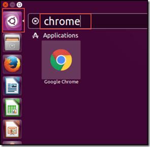 Run Chrome Application with Ubuntu Dash