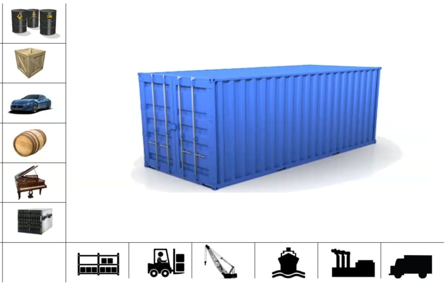 A standard container became the solution