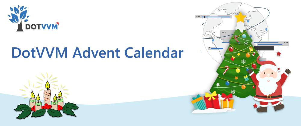 Cover image for DotVVM Advent Calendar 2020