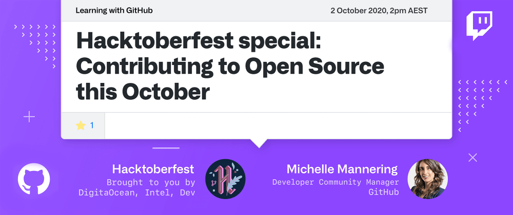 Cover image for Hacktoberfest is here! How do you get involved?