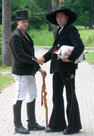 German journeymen (craftsmen) in traditional dress