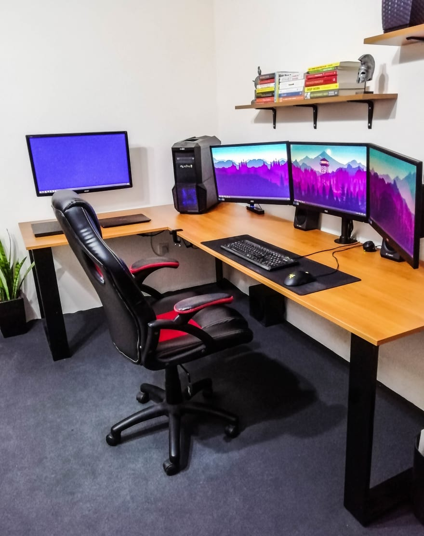 duane creates setup