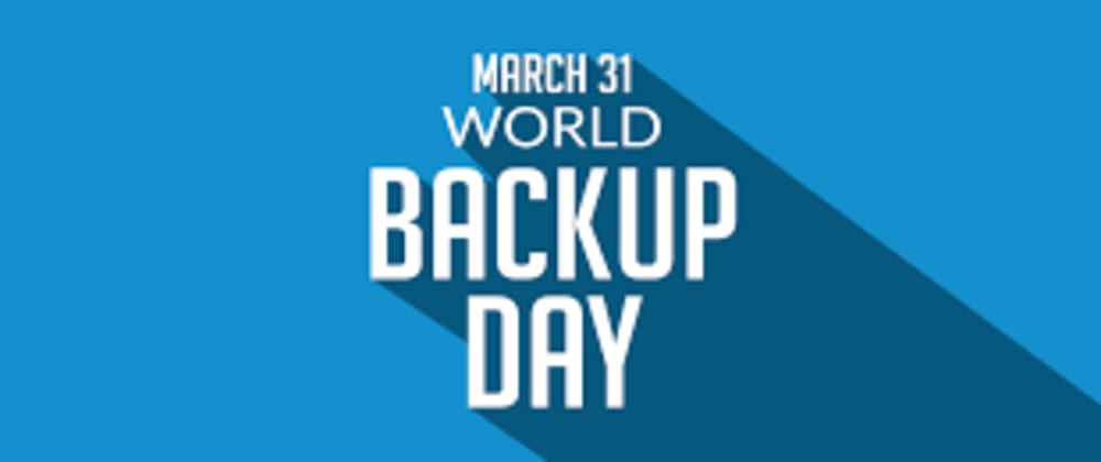 Cover image for What world backup day should teach us about development
