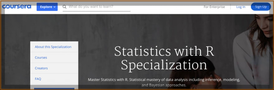 Statistics With R Specialization