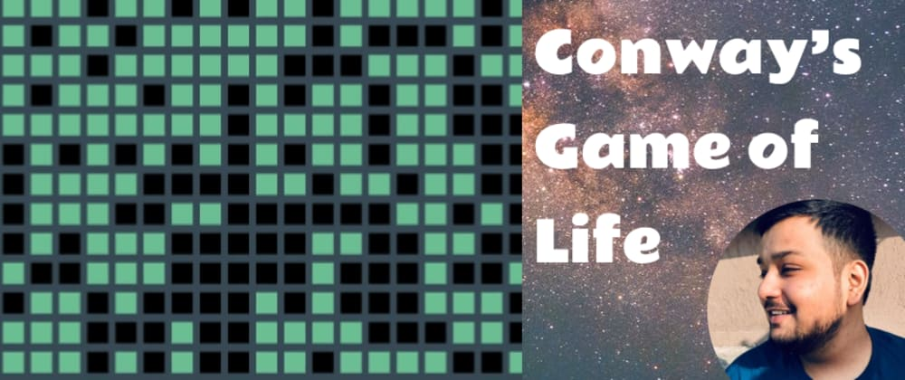 Cover image for React: Conway's Game of Life.