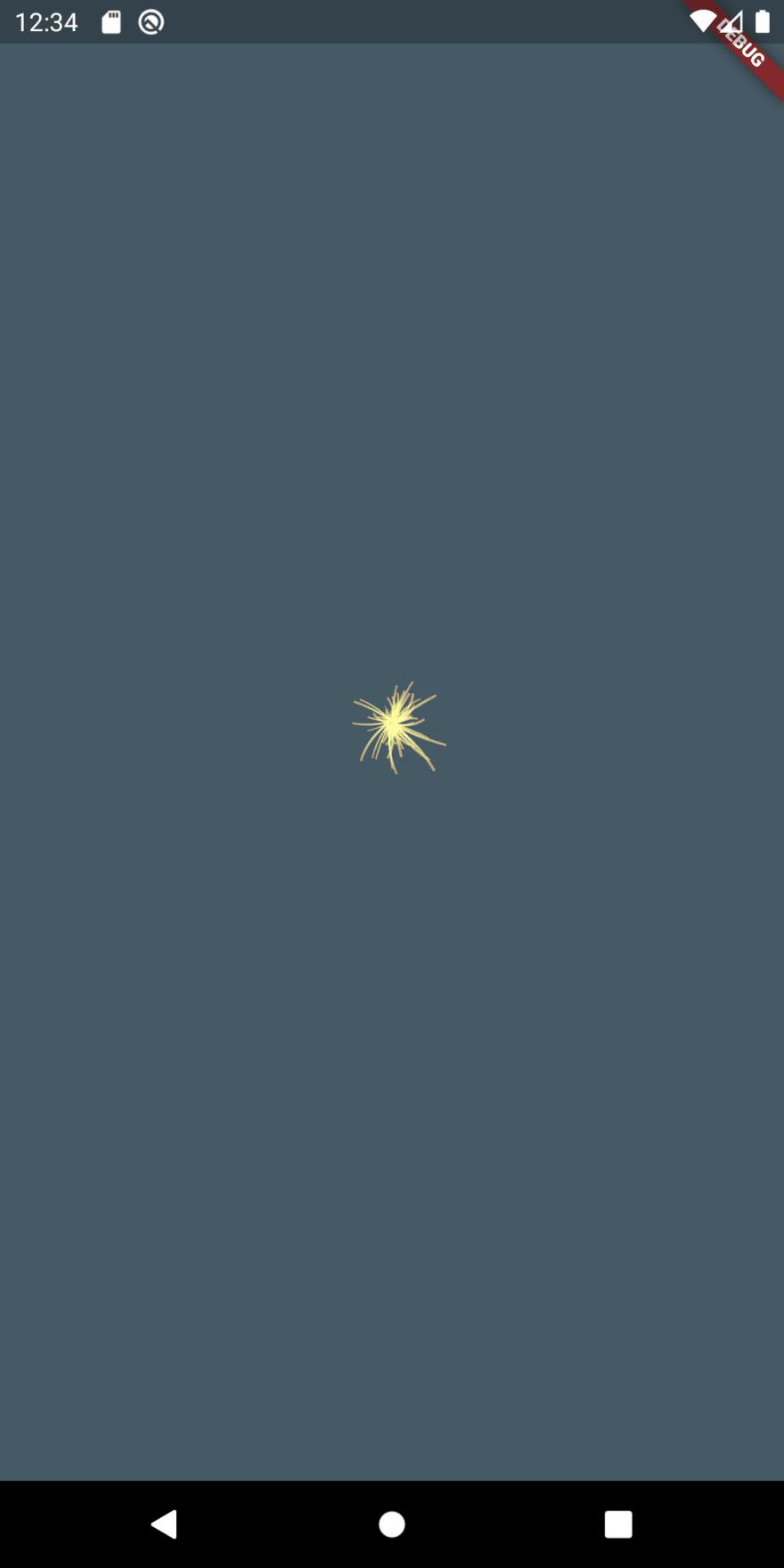Flutter sparkler iteration 3
