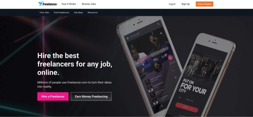 Freelancer.com website