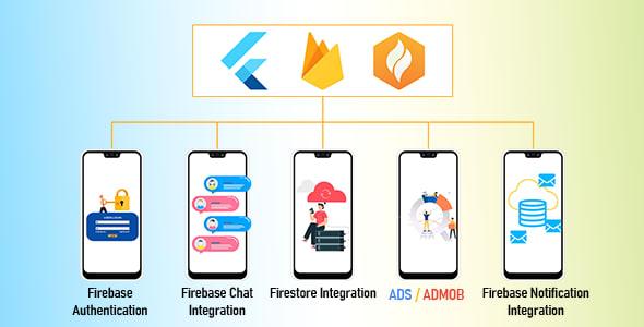Flutter Firebase Full<br> Kit