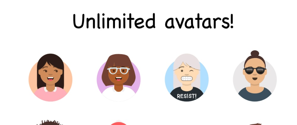 Cover image for I made an app that generates unlimited Avatars