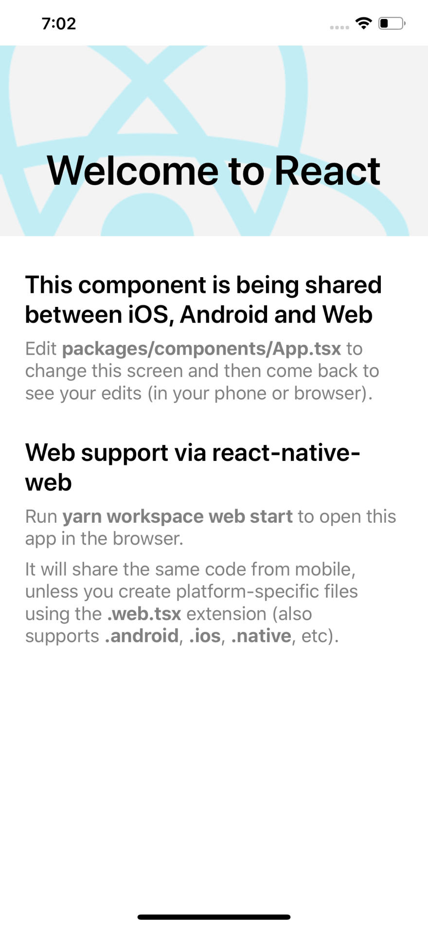 Tutorial: How to share code between iOS, Android & Web using