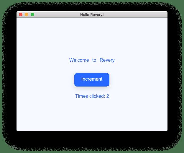 Revery Quickstart Launch