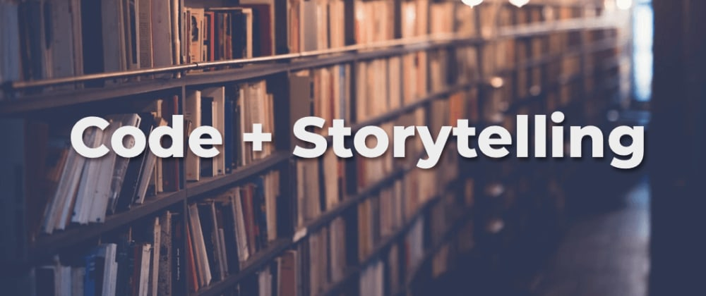 Cover image for Your code should tell a story: Tips for writing code for others to read