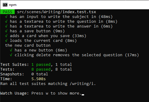 Writing Delete Button Passes