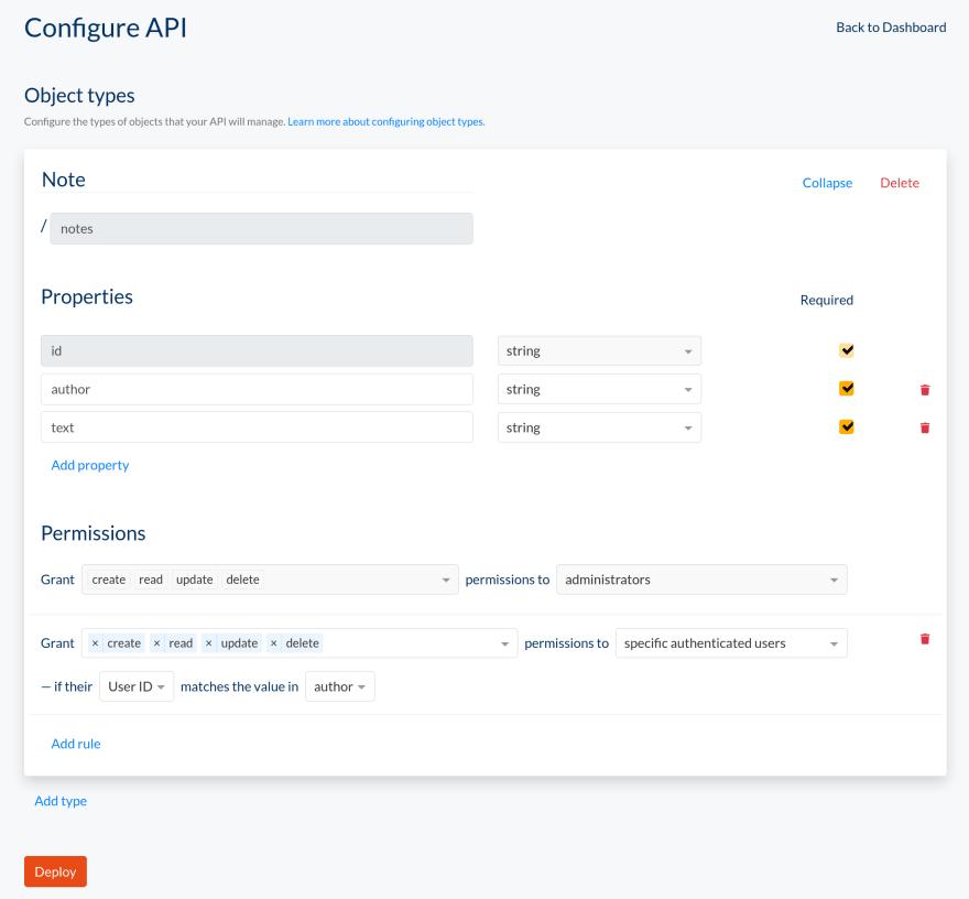 Stackprint API configuration
