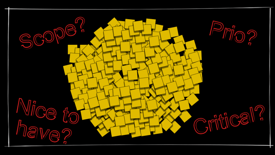 Unsorted pool of requirements that leaves the most important questions unanswered