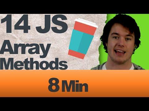 14 JavaScript JS Array Methods Clean Code Studio Video Thumbnail