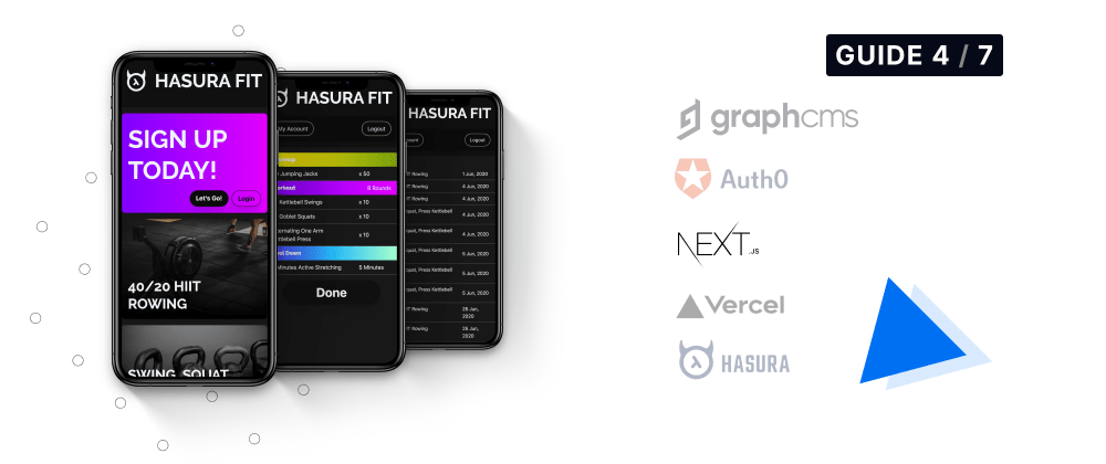 Cover image for Hasura Fit: Setting up NextJs