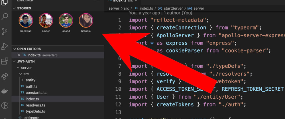Cover image for VS Code Stories - New Extension