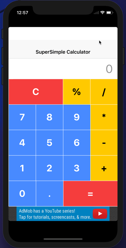 How to polish our existing Ionic3 calculator application - DEV