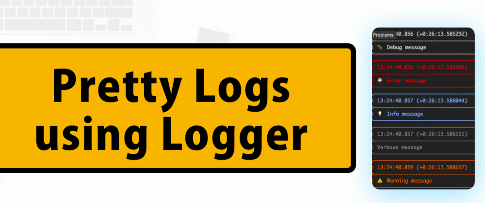 Cover image for Show clean log messages in Flutter using logger