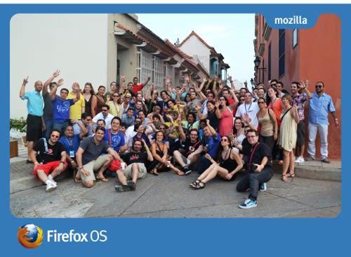 Firefox OS Launch Camp