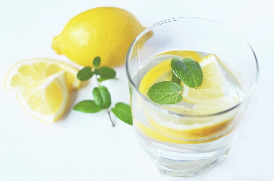 """A good example of an Alt Attribute - """"A refreshing glass of water with sliced lemon and mint"""""""