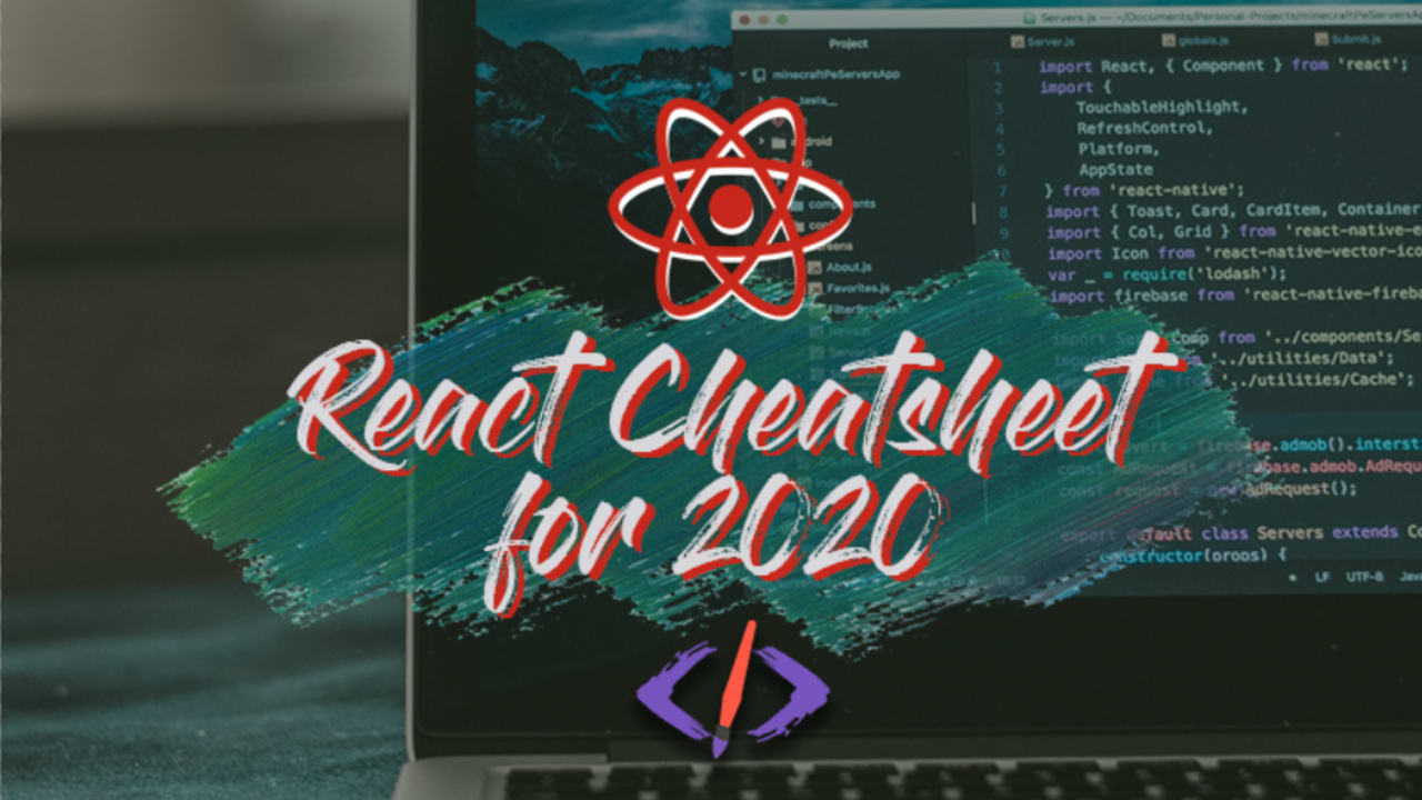The React Cheatsheet for 20 📄 + Real World Examples   DEV ...