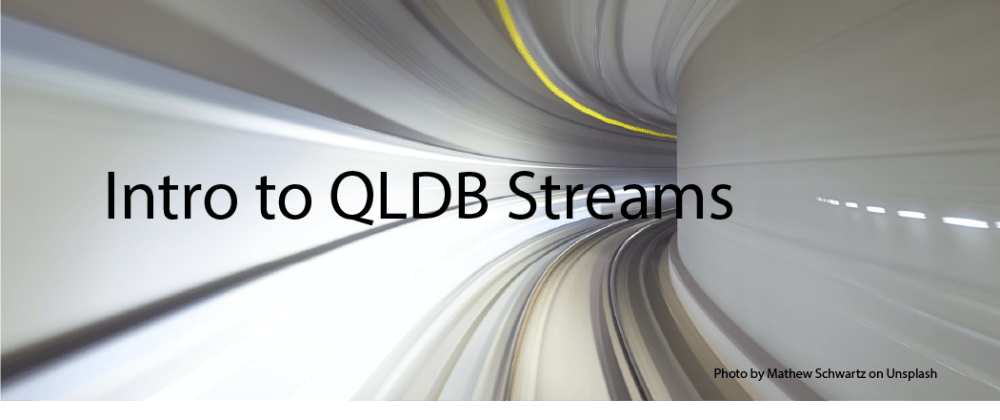 Cover image for How I streamed data from Amazon QLDB to DynamoDB using Nodejs in near-real time