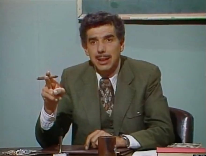 O professor Jirafales