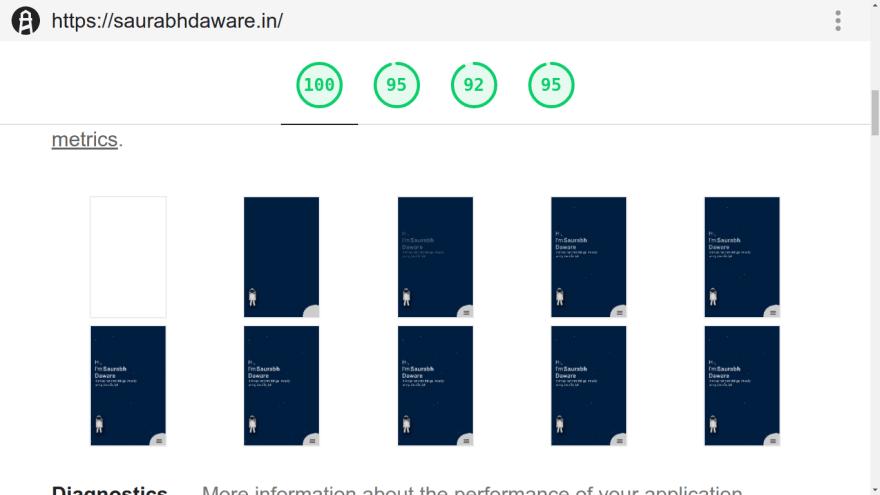 How my website loads slides