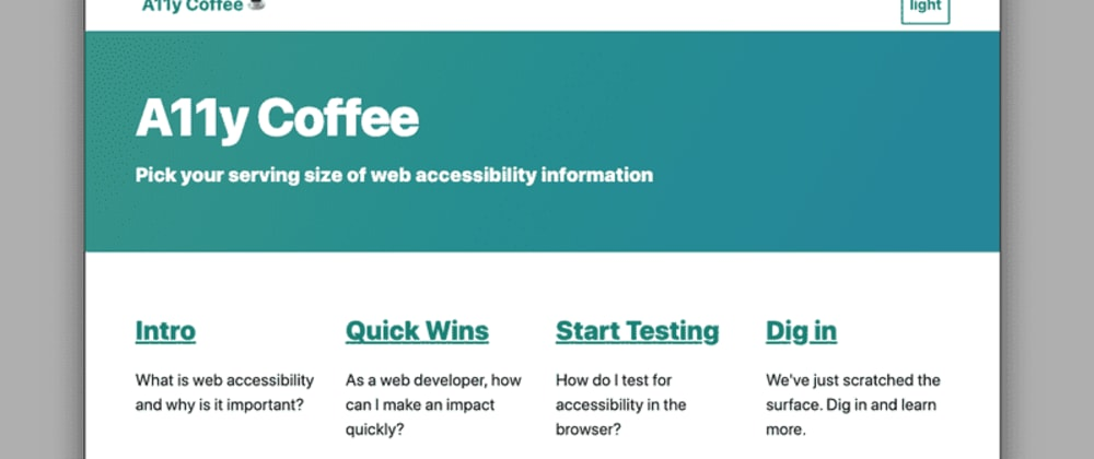 Cover image for What is Web Accessibility and How Do I Get Started?