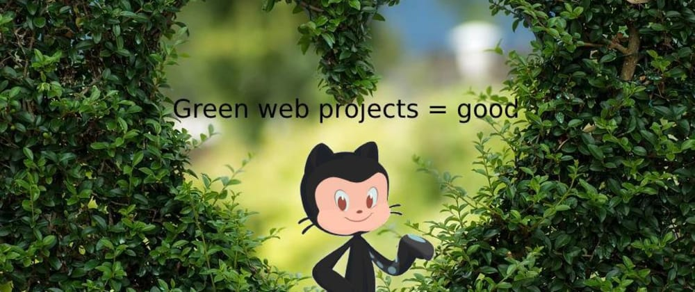 Cover image for Check how green your web project is