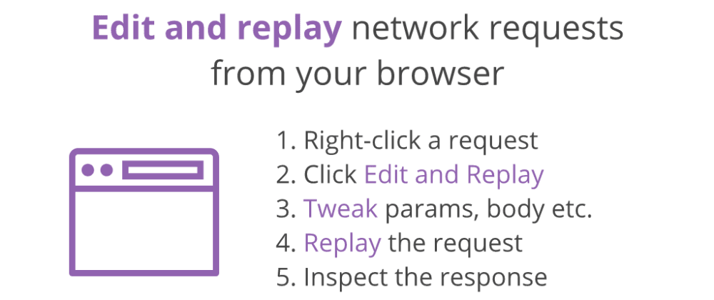 Cover image for Edit and Replay your network requests, direct from the browser