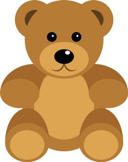 CSS teddy bear