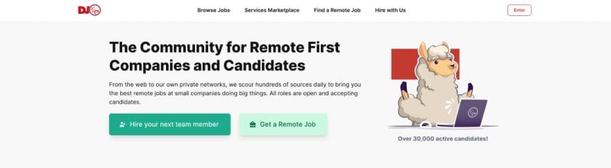 Dynamite Jobs website