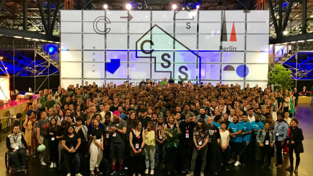CSSConf EU 2019 family photo