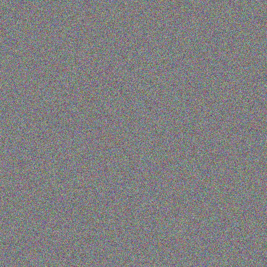 Pseudo-random Image