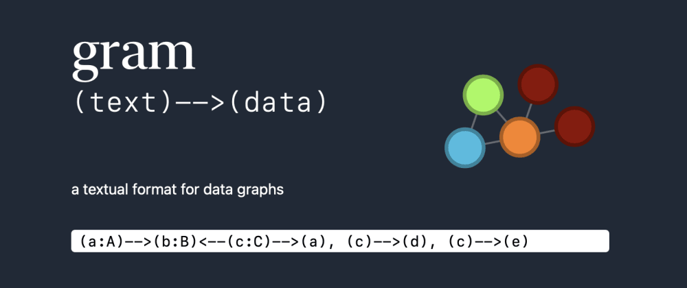 Cover image for Gram: a data graph format