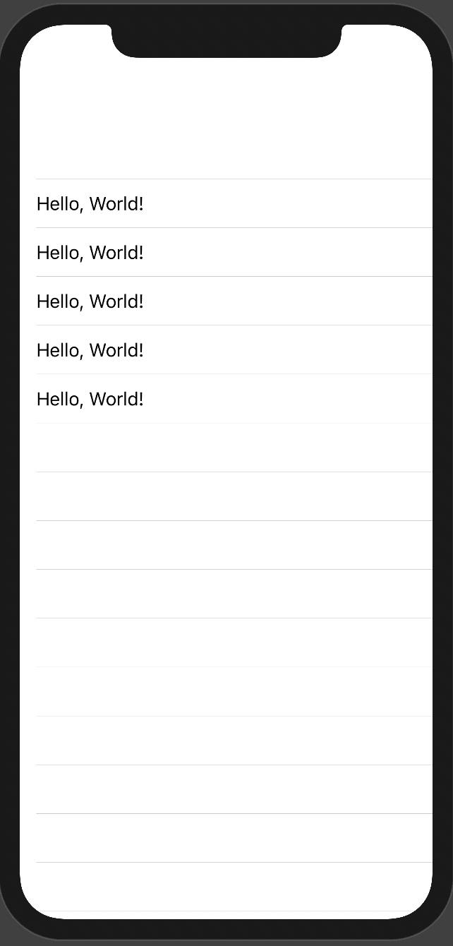 NavigationView of Hello World!