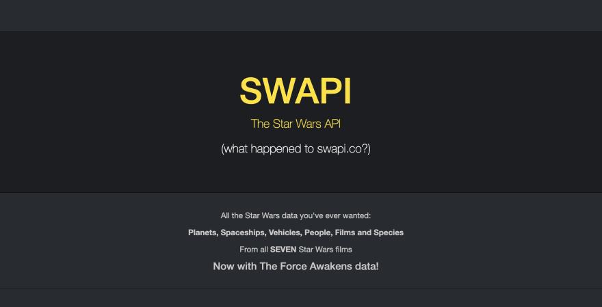 Star Wars API