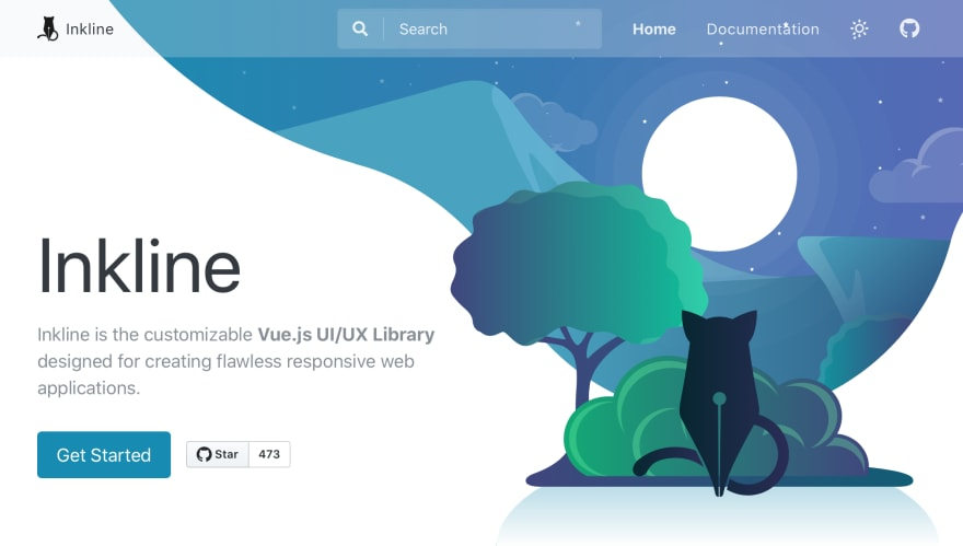 Vue.js UI/UX Library - Inkline