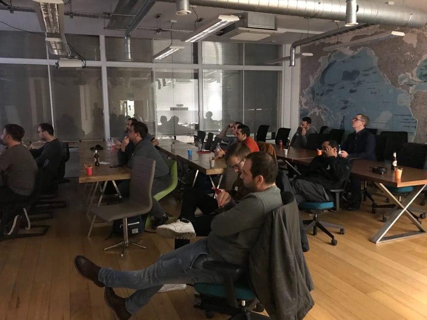MMT Tech Meet-up in London
