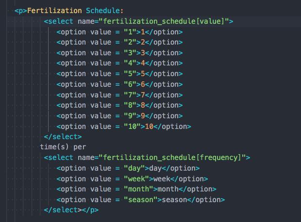 un-refactored code