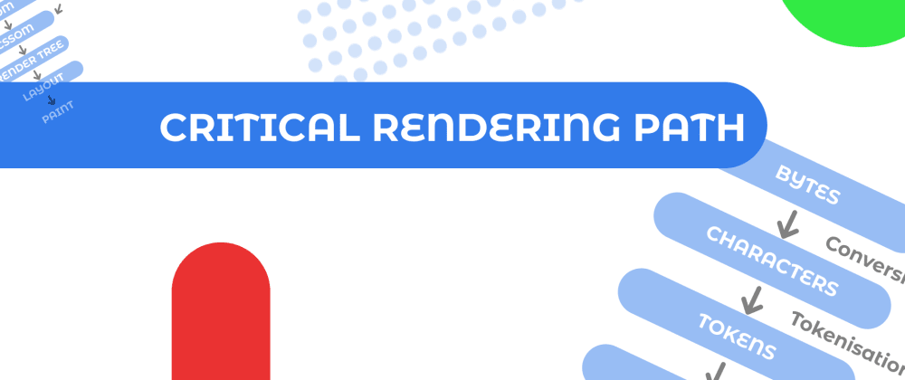 Cover image for CRITICAL RENDERING PATH