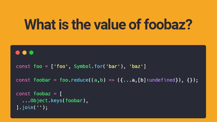 trivial JS code