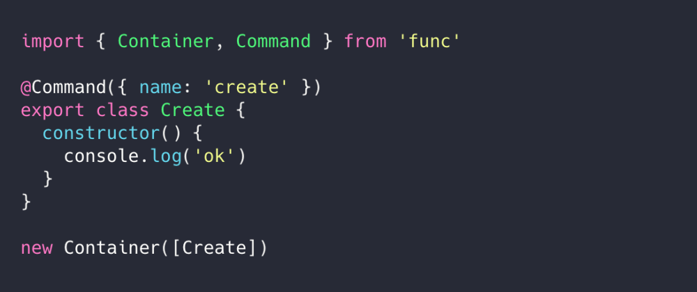 Cover image for Func - a modern command-line framework