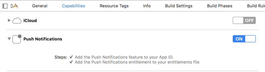 Push Notifications - Slide On