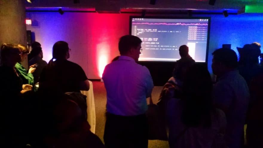 SonicPI DJ screen