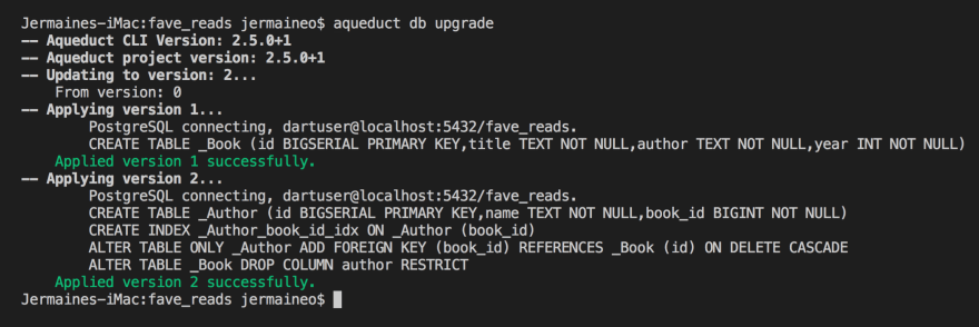 Building RESTful Web APIs with Dart, Aqueduct, and PostgreSQL