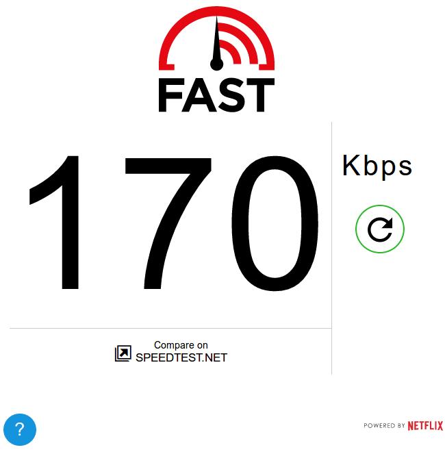Fast.com Image Proof